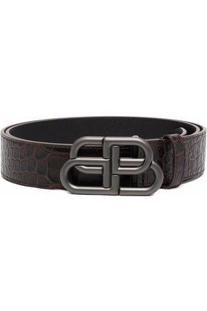 Balenciaga Homme Ceintures - BB logo-buckle belt
