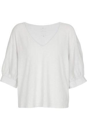 Velvet T-shirt Claudia en coton