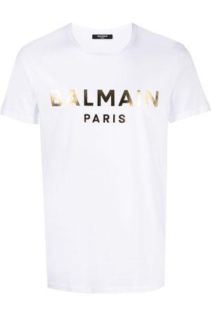 Balmain T-shirt à logo