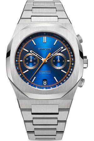 D1 MILANO Homme Montres - Royal Blue Chronograph 41.5mm