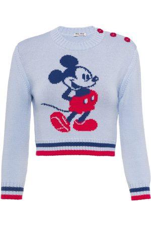 Miu Miu X Disney pull Mickey Mouse