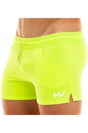 Modus Vivendi Homme Boxers - Short Peace Coton Fluo