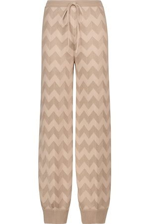 Missoni Pantalon de survêtement en laine mélangée