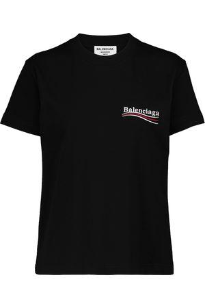 Balenciaga T-shirt en coton à logo