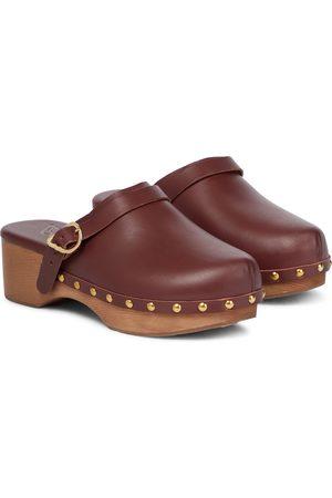 Ancient Greek Sandals Sabots Classic Closed en cuir