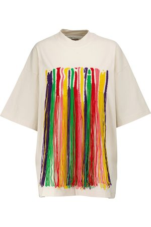 Palm Angels X Missoni – T-shirt à franges en coton
