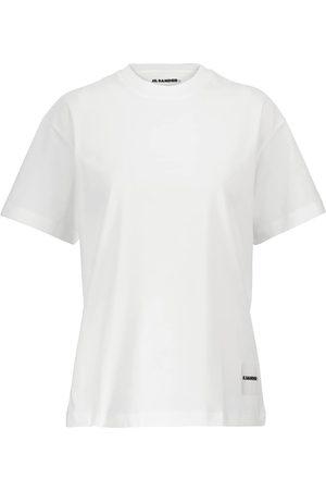 Jil Sander Set de 3 t-shirts en jersey de coton