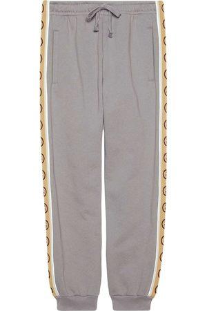 Gucci Pantalon de jogging à bande logo