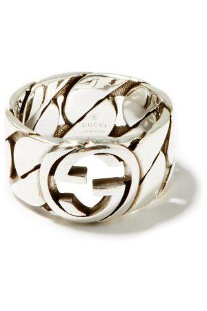 Gucci Homme Bagues - Bague chaîne en sterling à logo GG