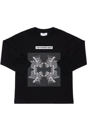Burberry Sweat-shirt En Coton Imprimé
