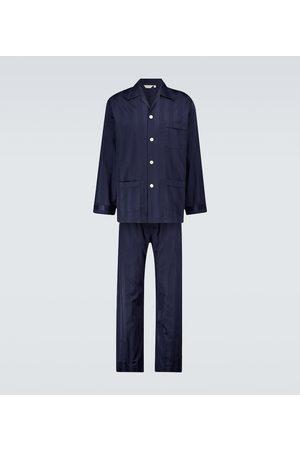 DEREK ROSE Homme Pyjamas - Ensemble de pyjama Lingfield en coton