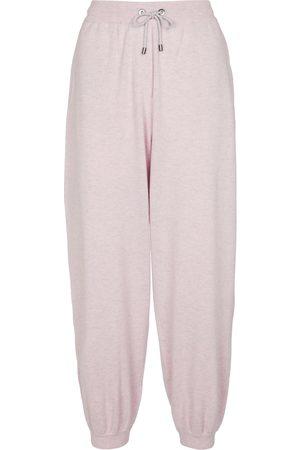Brunello Cucinelli Pantalon de survêtement en laine, cachemire et soie