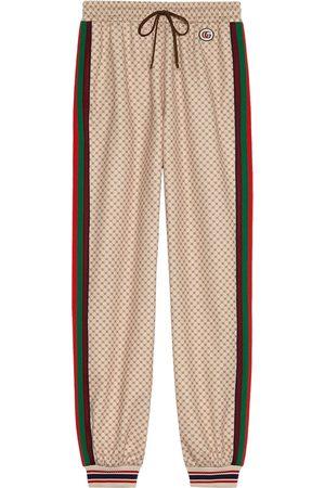 Gucci Pantalon de jogging à motif GG signature