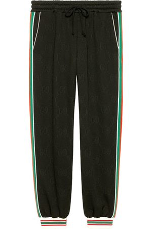 Gucci Pantalon de jogging à motif GG en jacquard