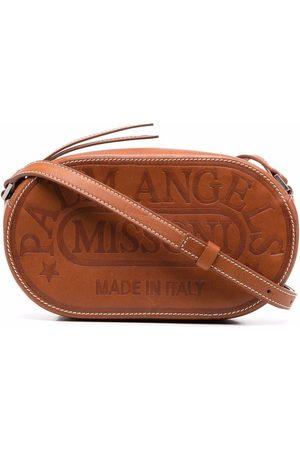 Palm Angels X Missoni sac à bandoulière à logo embossé