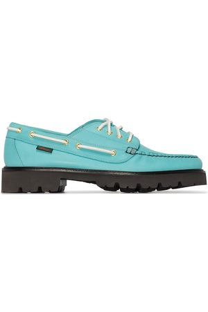 G.H. Bass X Browns Jetty leather boat shoes