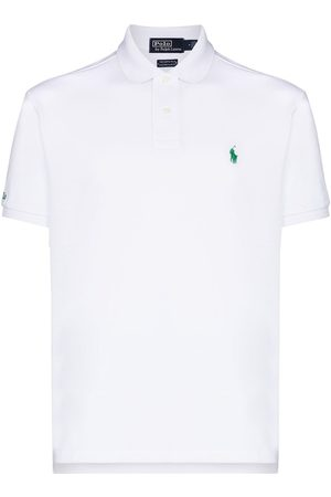 Polo Ralph Lauren Homme Polos - PRL RCYCLD MSH EARTH SS POLO WHT