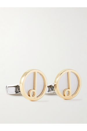 Dunhill Homme Cravates - Gold- and -Tone Cufflinks