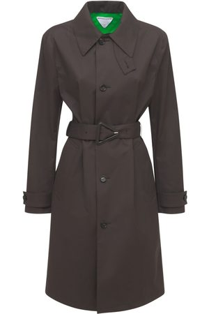 Bottega Veneta Trench-coat En Coton Doublé