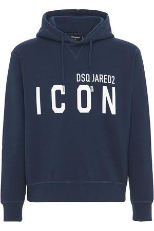 """Dsquared2 Sweat-shirt En Jersey De Coton À Capuche """"icon"""""""