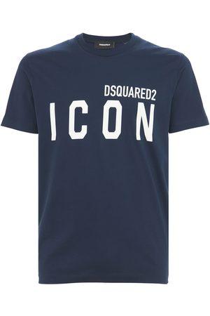 """Dsquared2 T-shirt En Jersey De Coton Imprimé """"icon"""""""
