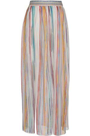 Missoni Striped knit maxi skirt