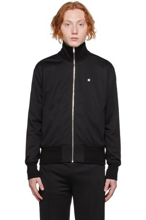 Givenchy Blouson de survêtement noir à glissière