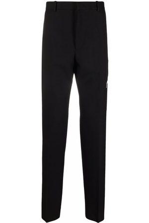 Jil Sander Homme Joggings - Pantalon fuselé à taille haute
