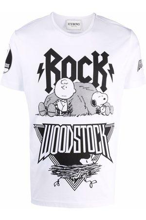 Iceberg T-shirt à imprimé Woodstock