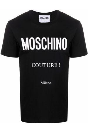 Moschino Homme Débardeurs - Couture logo-print T-shirt