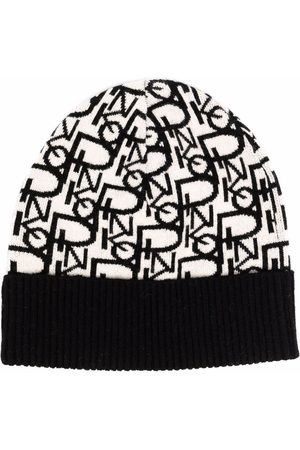 Pinko Femme Bonnets - Bonnet à logo intarsia