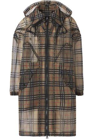Burberry Femme Parkas - Manteau à motif Vintage Check