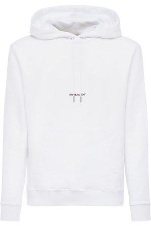 Saint Laurent Sweat-shirt En Jersey À Capuche
