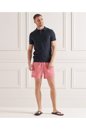 Superdry Homme Polos - Polo en maille fine