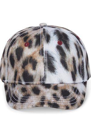 Molo Fille Bonnets - Casquette Sebastian à imprimé léopard