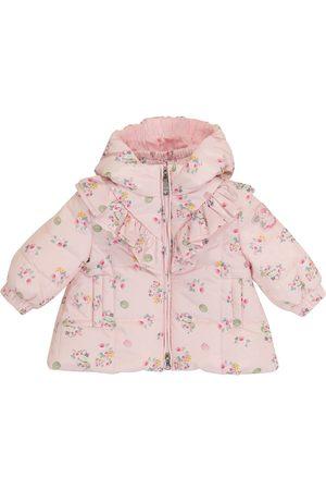 MONNALISA Manteau matelassé à motif floral pour bébé