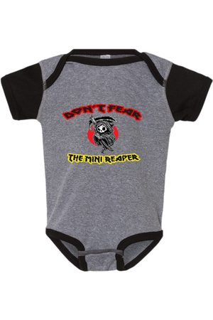 Etsy - LibertePunk Infant Bodysuit Don't Fear The Mini Reaper, Gothic Kids Clothes, Punky Onesie, Baby Bodysuits, Mother Gift, Baby Shower Gift, Newborn Cloths
