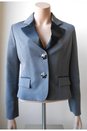 Etsy - BusinessStyleFR Femme Pantalons classiques - Romeo Gigli Vintage 90S, Tailleur Femme Laine Gris, M, Made in Italy, Veste Luxe, Mode 1990, Vêtements Chic