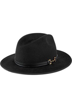 Gucci Homme Chapeaux - Chapeau en feutre avec détail en cuir