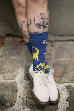 UNSEVEN Chaussettes Dino