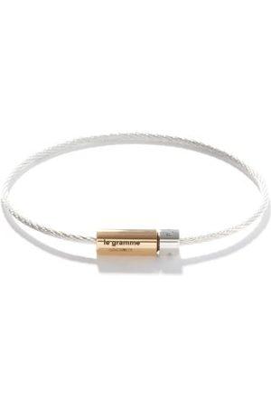 Le Gramme Homme Bracelets - Bracelet en sterling et or 18 carats 7g