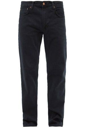 Nudie Jeans Homme Coupe droite - Jean droit en coton biologique Gritty Jackson