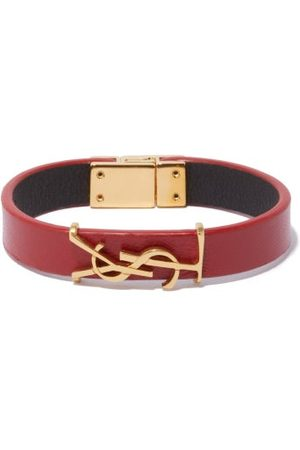 Saint Laurent Bracelets - Bracelet en cuir YSL