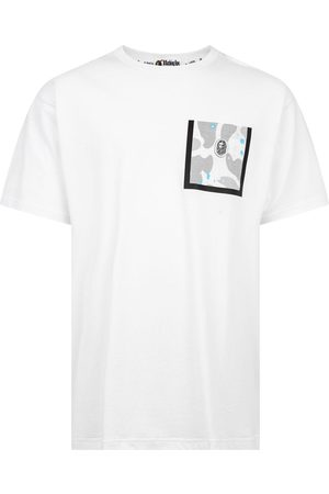A Bathing Ape T-shirt Relaxed Space Camo Pocket