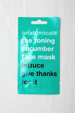 Anatomicals Masque faciale The Toning Cucumber