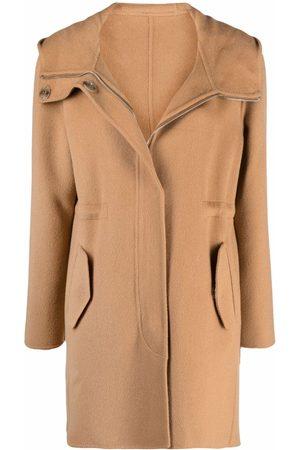 Pinko Femme Manteaux - Manteau à taille à lien de resserrage
