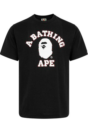 A Bathing Ape T-shirt Crystal Stone College