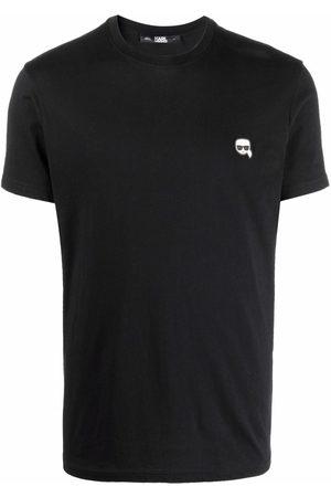 Karl Lagerfeld T-shirt Ikonik à broderies