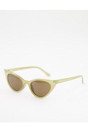 Jeepers Peepers Lunettes de soleil œil-de-chat pour femme à verres teintés
