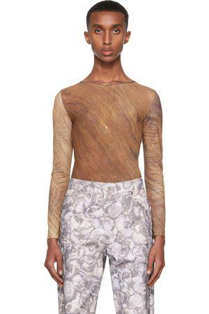 Serapis T-shirt à manches longues Tech brun